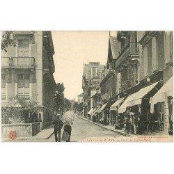 carte postale ancienne 64 SALIES-DE-BEARN. Cours du Jardin Public
