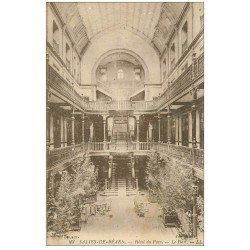 carte postale ancienne 64 SALIES-DE-BEARN. Hall de l'Hôtel du Parc
