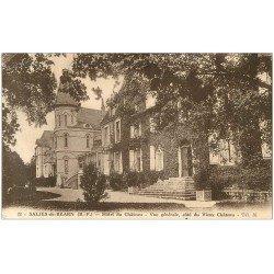 carte postale ancienne 64 SALIES-DE-BEARN. Hôtel du Château