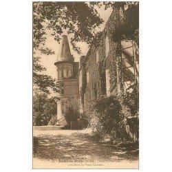 carte postale ancienne 64 SALIES-DE-BEARN. Hôtel du Château 1938