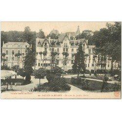 carte postale ancienne 64 SALIES-DE-BEARN. Jardin Public