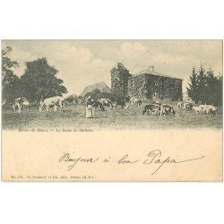carte postale ancienne 64 SALIES-DE-BEARN. La Ferme de Bailleux vers 1900