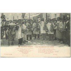 carte postale ancienne 64 SALIES-DE-BEARN. L'ous Piquetalos avec leur refrain