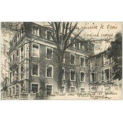 carte postale ancienne 64 SALIES-DE-BEARN. Nouvel Hôtel et Pavillon Beau-Séjour 1921
