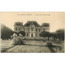 carte postale ancienne 64 SALIES-DE-BEARN. Pensionnat Saint-Joseph