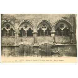 carte postale ancienne 47 AGEN. Maison du Sénéchal rue du Saumon