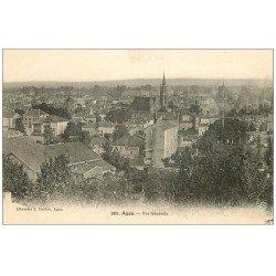 carte postale ancienne 47 AGEN. Vue générale
