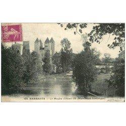 carte postale ancienne 47 BARBASTE. La Moulin des Tours ou Henri IV 1933