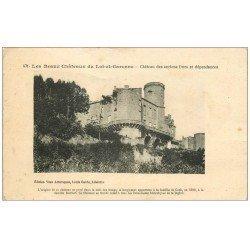 carte postale ancienne 47 BEGADAN 1947. Château des anciens Ducs