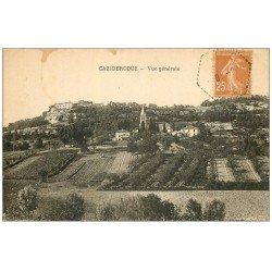carte postale ancienne 47 CAZIDEROQUE 1930