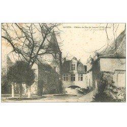 carte postale ancienne 47 LAUZUN. Château du Duc de Lauzun 1904