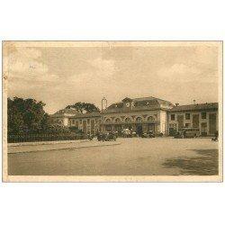 carte postale ancienne 47 MARMANDE. La Gare 1949