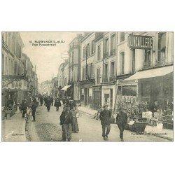 carte postale ancienne 47 MARMANDE. Quincaillerie Rue Puygueraud vers 1917