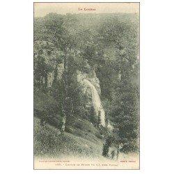 carte postale ancienne 48 CASCADE DE RHUNE. Près Florac