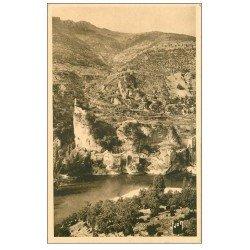 carte postale ancienne 48 CASTELBOUC. Village et Château