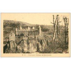 carte postale ancienne 48 CHATEAU DE SAILHANS