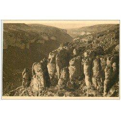 carte postale ancienne 48 GORGES DU TARN. Le Canon de la Jonte
