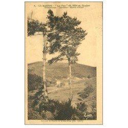 carte postale ancienne 48 LA BASTIDE. Les Pins. Moure de la Gardihe 1936
