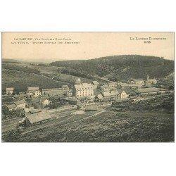 carte postale ancienne 48 LA BASTIDE. Vue sur la Gare 1925