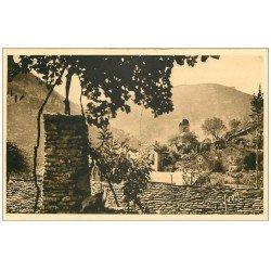 carte postale ancienne 48 LA MALENE. Roc de la Barre
