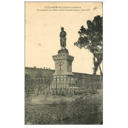 carte postale ancienne 48 LABASTIDE-SAINT-LAURENT-LES-BAINS. Monument aux Morts 1927