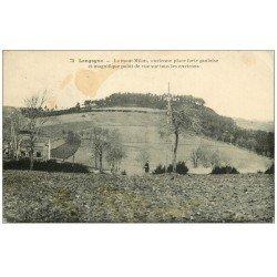 carte postale ancienne 48 LANGOGNE. Mont Milan