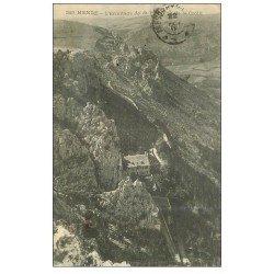carte postale ancienne 48 MENDE. Ermitage de Saint-Pierre 1919