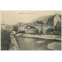 carte postale ancienne 48 MENDE. Le Pont Notre-Dame