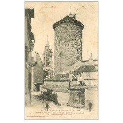 carte postale ancienne 48 MENDE. Tour des Pénitents 1906
