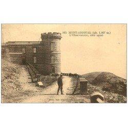 carte postale ancienne 48 MONT-AIGOUAL. L'Observatoire vers 1930