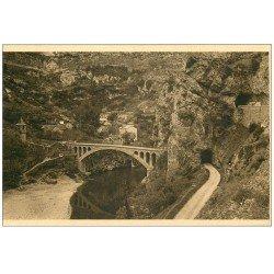 carte postale ancienne 48 SAINTE-CHELY. Le Pont