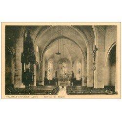 carte postale ancienne 48 SAINTE-CHELY-D'APCHER. Eglise