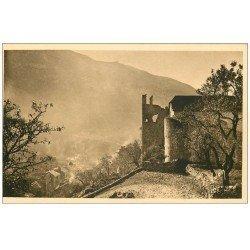 carte postale ancienne 48 SAINTE-ENIMIE. Ancien Monastère