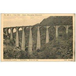 carte postale ancienne 48 VILLEFORT. Pont Viaduc
