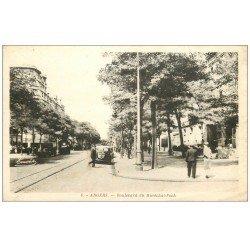 carte postale ancienne 49 ANGERS. Boulevard du Maréchal Foch