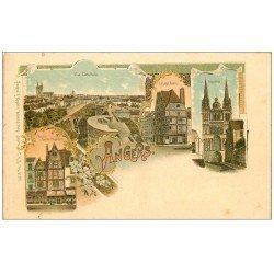 carte postale ancienne 49 ANGERS. Carte Premier Tirage vers 1900