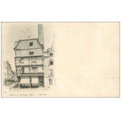 carte postale ancienne 49 ANGERS. Commerce ornements d'Eglise et Logis Adam vers 1900