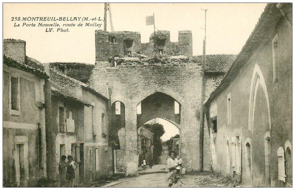 49 montreuil bellay la porte nouvelle route de mollay for Porte de montreuil code postal