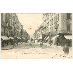 carte postale ancienne 49 SAUMUR. Rue d'Orléans 1903