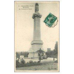 carte postale ancienne 59 ANNOEULLIN. Monument Victimes du Devoirv1910