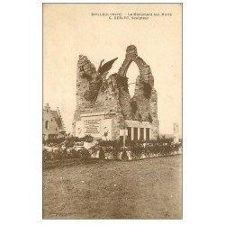 carte postale ancienne 59 BAILLEUL. Le Monument aux Morts