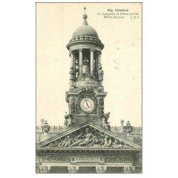 carte postale ancienne 59 CAMBRAI. Campanile Hôtel de Ville 1909