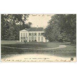 carte postale ancienne 59 CASSEL. Château d'Oxelaëre 1904