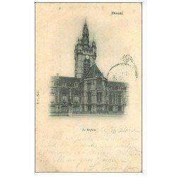 carte postale ancienne 59 DOUAI. Le Beffroi 1901
