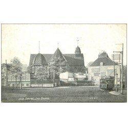 carte postale ancienne 59 DOUAI. Les Bains