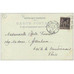 carte postale ancienne 59 DUNKERQUE. Eglise Saint-Eloi 1901