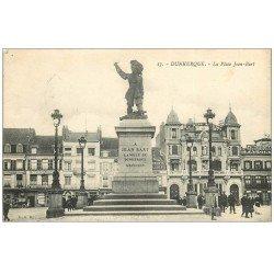59 DUNKERQUE. Lot 5 Cpa. Cinéma Place Jean-Bart, Petit Pont Palais Justice, Barques Pêcheurs, Hôpital, Port