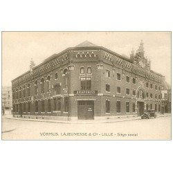 carte postale ancienne 59 LILLE. Draperies Siège Social. Vormus Lajeunesse. Impeccable