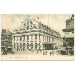 carte postale ancienne 59 LILLE. Le Théâtre