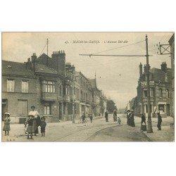 carte postale ancienne 59 MALO-LES-BAINS. Pharmacie Avenue Bel-Air